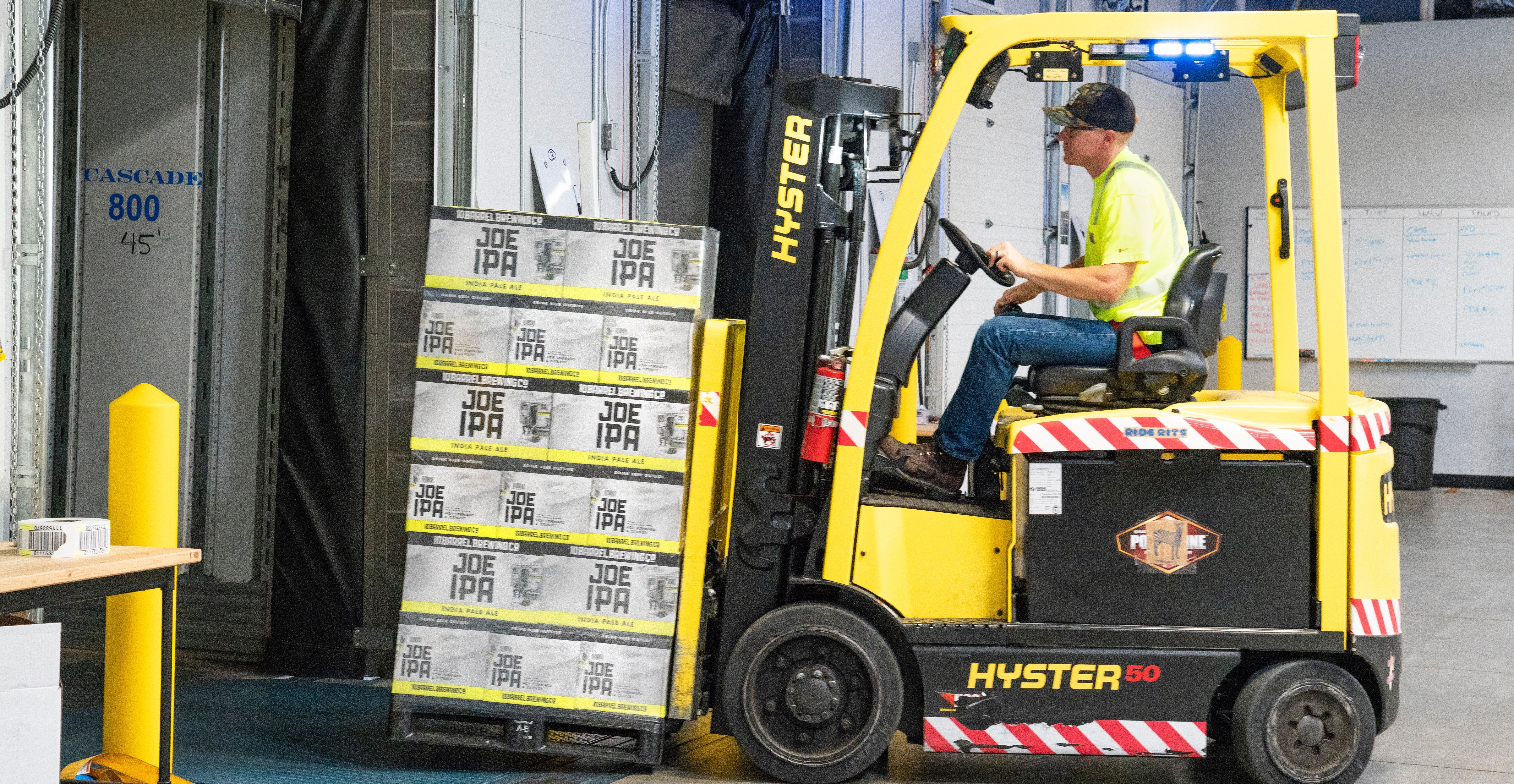 One-day forklift operator course