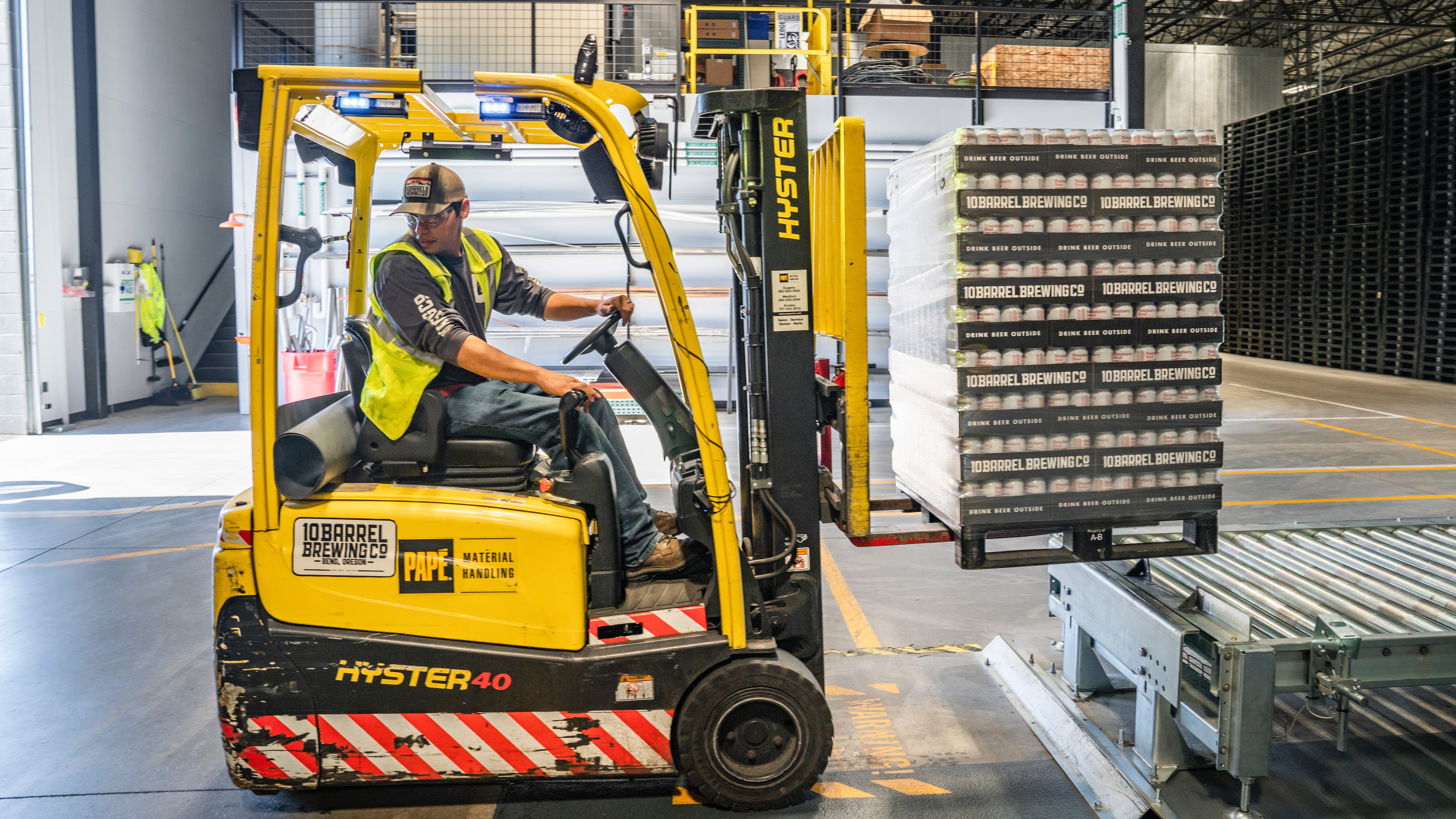 Two-day forklift operator course